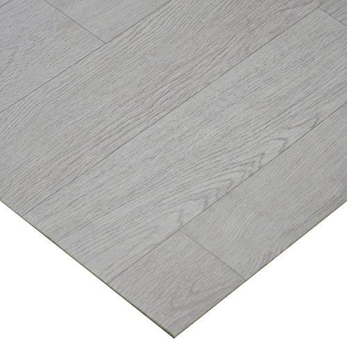 Polymer Sided Tape Double - Rubber-Cal Terra-Flex Oak Premium Rubber Flooring Rolls, White Wash Oak, 2mm x 5' x 10'