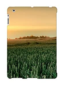 DxdtgNa3124WUbHh Crazinesswith Green Barley Field Feeling Ipad 2/3/4 On Your Style Birthday Gift Cover Case