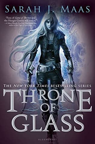 book cover of Throne of Glass