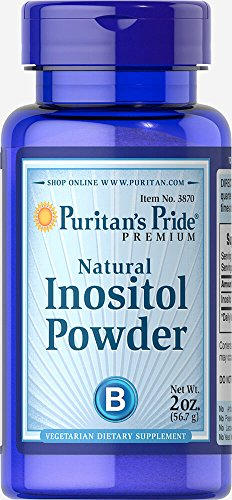Puritan's Pride Inositol Powder 1000 mg Natural-2 oz ()