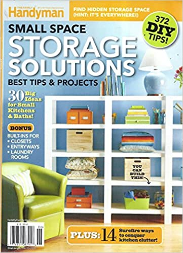 Small Space Storage Solutions 2016 Magazine (The Family Handyman   372 DIY  Tips): V: Amazon.com: Books