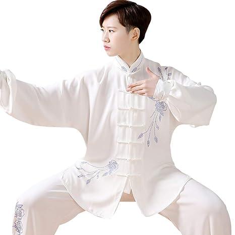 Tai Chi Traje Mujer Hombre Transpirable Estilo Chino Tai Chi ...