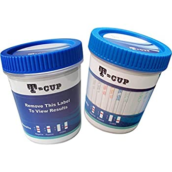 5 Panel T-Cup Multi Drug Urine Test Kit (Multiple Quantities)(25)(COC/THC /OPI/mAMP/BZO)