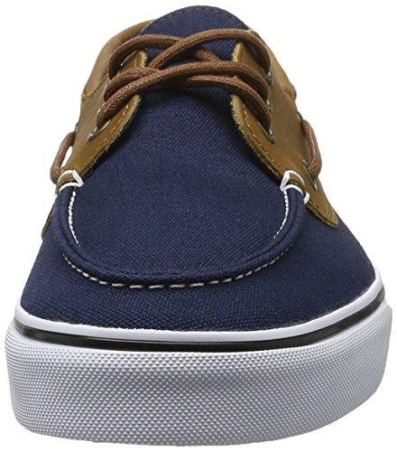 Vans Chauffeur Sf (washed Black) Zapatillas Para Hombre (c & L) Vestido Blues / Blanco