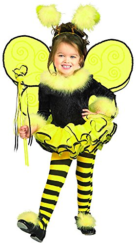 Bumble Bee Costumes Shoes (Rubie's Child's Costume, Bumblebee Tutu Costume-Toddler)