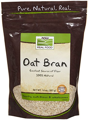 - NOW Foods Natural Oat Bran - 14 oz