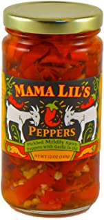 product image for Mama Lil's Mild Goathorn Peppers, 12 oz