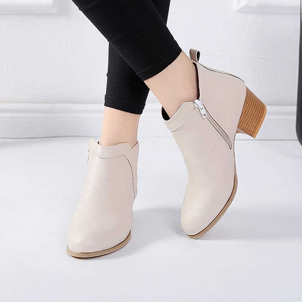 d189867f1ebe7 Amazon.com: Outtop(TM) Women's Four Season Ankle Booties - Ladies ...