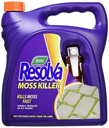 Resolva Moss Killer Ready to Use, 3 L