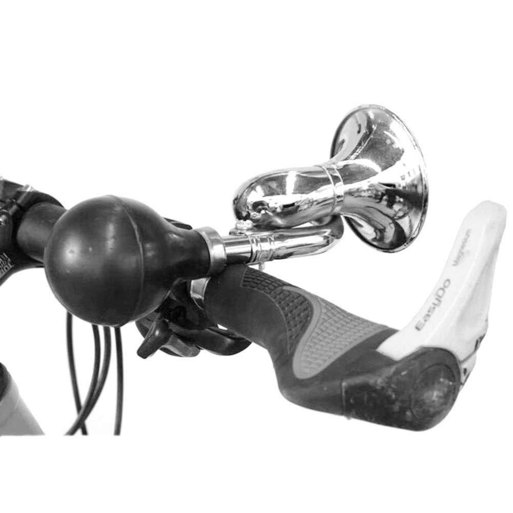 Blanc Aofocy 1 PCS Vintage Bicyclette Escargot Corne Cloche avec Son Fort V/élo Bug Sleeze Bulb Classique V/élo Honker