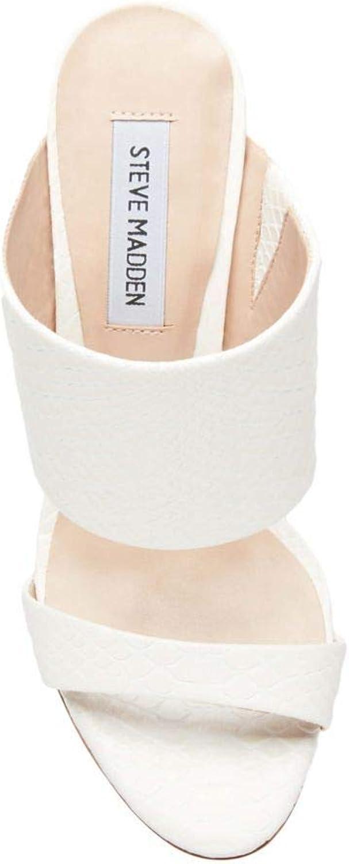 Steve Madden SMSMALLORY-BLKL Sandals Woman White