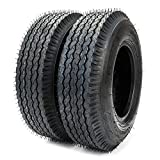 2 Pcs 4.80/4.00-8 4 PR Bias Trailer Tires P819