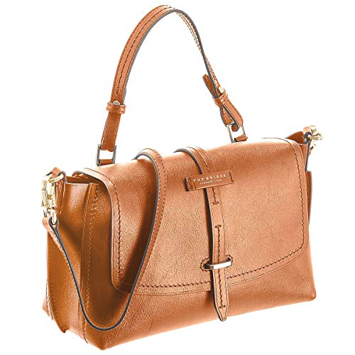 cognac Mano 30 Florentin The Brown Bridge Piel Bolso Braun A Cm wzpI5qI