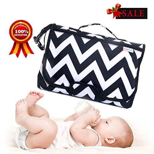 Diaper Changing pad BEST Deal,Holder Bag, Station Pad: Change & Clean Your Baby on the Go! Toddler Travel Tote & Padded Mat. Backpack Cushion Table, Organizer Pouch (Change Travel)