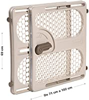Fits Spaces between 28 and 40 Taupe Safety 1st Pressure Mount Easy Fit Security Gate