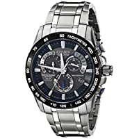 Citizen AT4010-50E Mens Eco-Drive Titanium Perpetual Watch