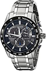 Citizen Eco-Drive Men's AT4010-50E Titanium Perpetual Chrono A-T Watch