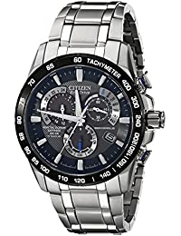 Eco-Drive Men's AT4010-50E Titanium Perpetual Chrono A-T Watch