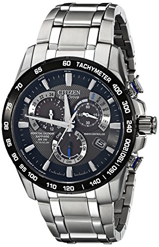 Citizen Eco-Drive Men's AT4010-50E Titanium Perpetual Chrono A-T Watch (Ecko Quartz)