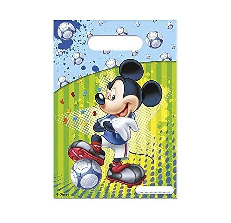 Lot 6 bolsita Surprise Mickey Foot - Bolsa regalo caramelos ...