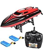 Virhuck Remote Control Boats for Pools and Lakes - Remote Controlled RC Boats for Kids or Adults