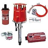 ignition msd distributor - MSD Complete Ignition Kit Chevy SBC Digital 6AL Distributor Wires Coil Bracket