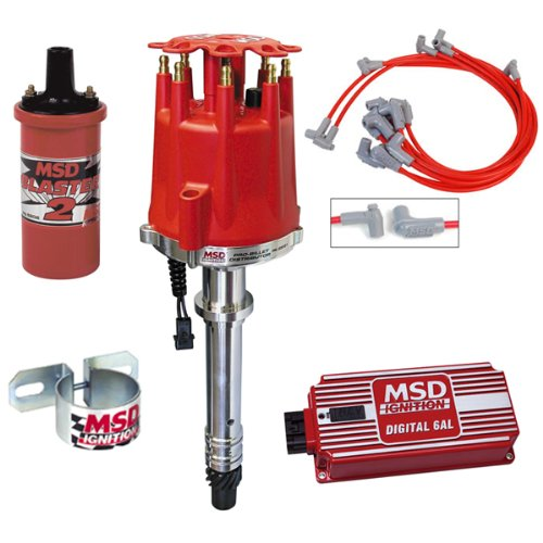 MSD Complete Ignition Kit Chevy SBC Digital 6AL Distributor