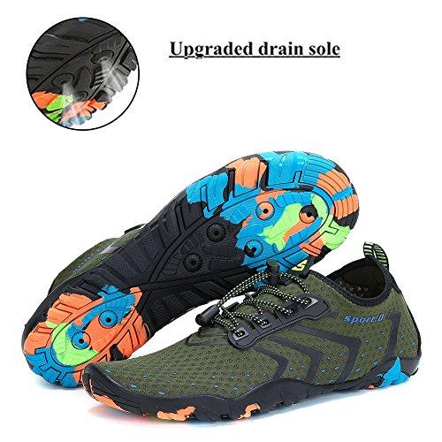 Pieds Piscine Marche Air Fitness Uk Femmes Rapide Sports Yoga Secs Chaussures Green Running Aqua Pour 3 5 Surf 11 Swim De Plage Plonge Pastaza Plein Schage La wzHUxE1q
