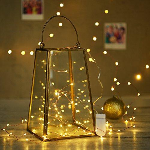 String Lights Oak Leaf 2 Set 9 8 Ft 30 Leds Starry Fairy