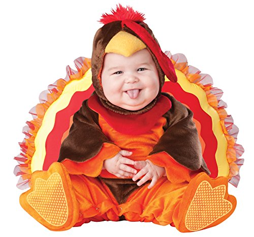 UHC Baby's Turkey Lil Gobbler Jumpsuit Infant Toddler Child Halloween Costume, (Lil Gobbler Baby Turkey Costumes)