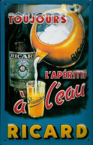 ricard-pastis-toujours-nostalgic-3d-embossed-domed-strong-metal-tin-sign-787-x-1181-inches