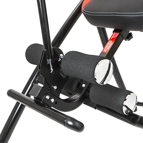 XtremepowerUS Gravity Inversion Therapy Table Fitness Back Pain Relief w/ Padded Backrest by XtremepowerUS (Image #5)