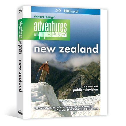 Richard Bangs' Adventures with Purpose: New Zealand [Blu-ray]