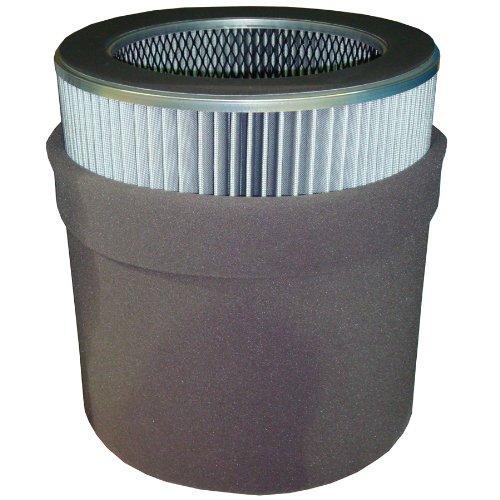 Solberg 485P Polyester Filter Element, 21-1/2'' Height, 14'' Inner Diameter, 19-5/8'' Outer Diameter, 4705 SCFM by Solberg