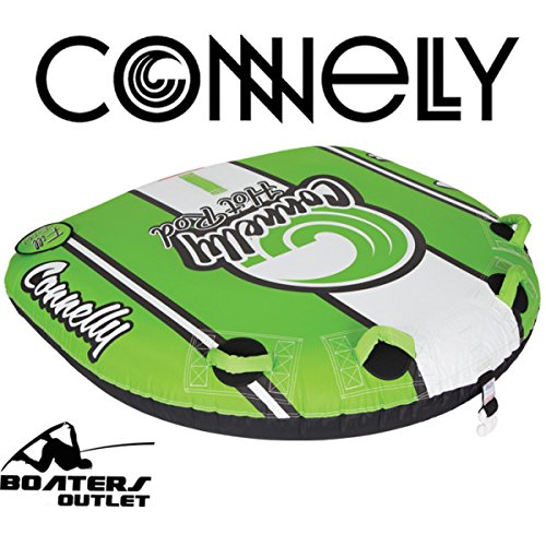 CWB Connelly Deck Towable Tube (2 Rider), Green