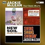 4 Classic Albums - Jackie Mclean -Fat Jazz / Jackie's Bag / New Soil / Swing Swang