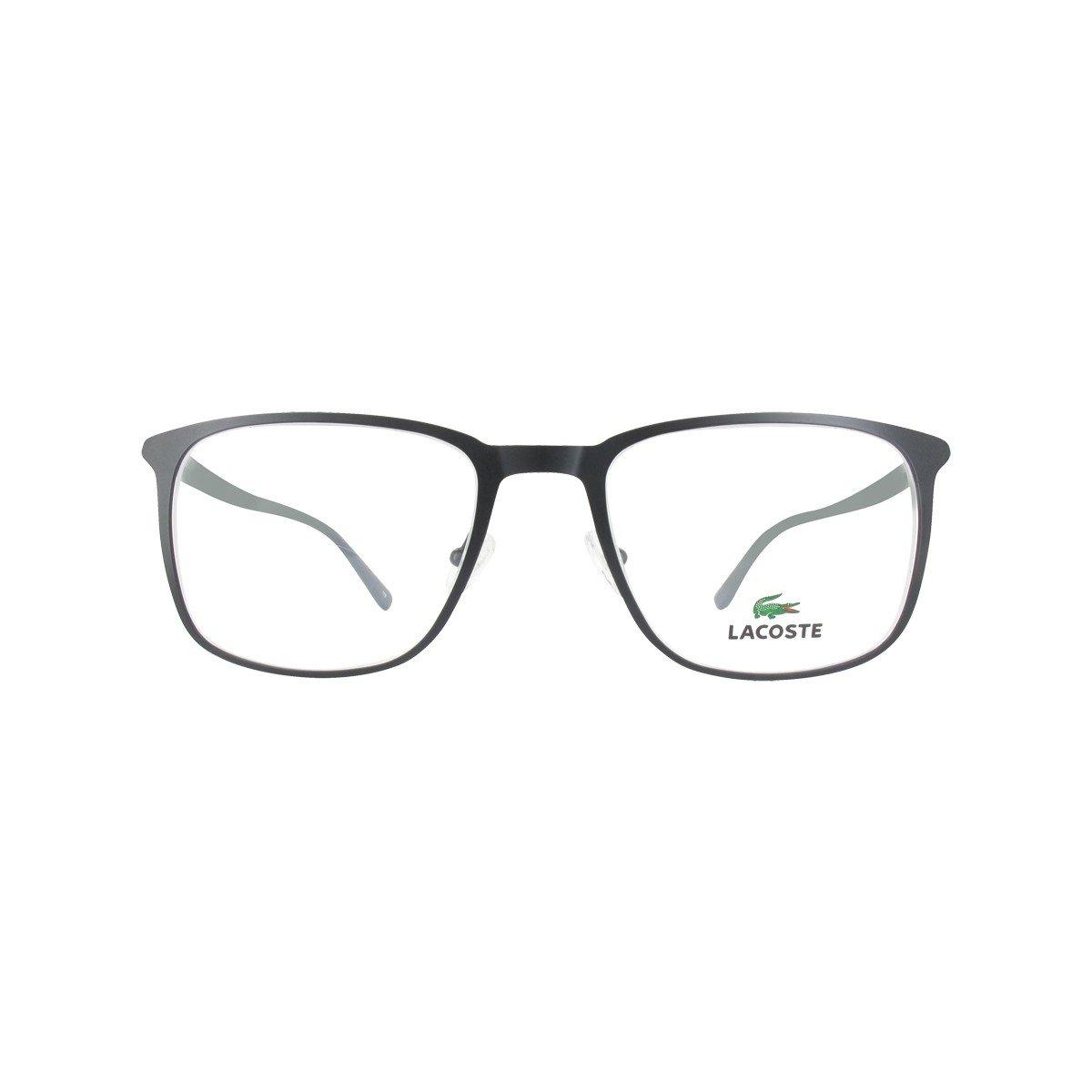 d1b9a5e101b0 LACOSTE Eyeglasses L2219 001 Matte Black MM  Amazon.ca  Clothing    Accessories