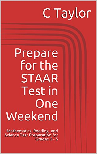 Amazon com: Prepare for the STAAR Test in One Weekend