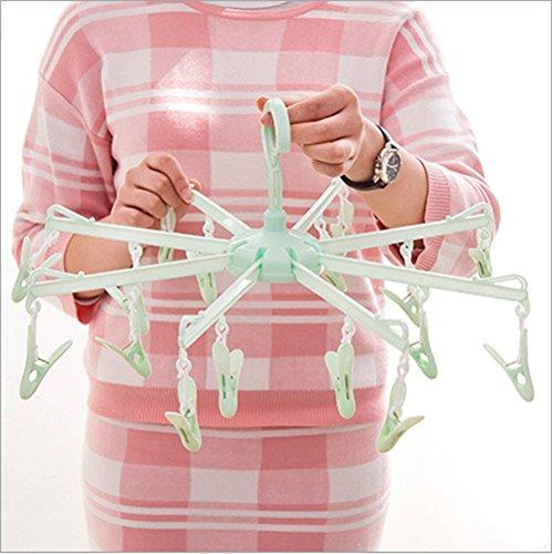 Lautechco 16 Clips Thickening Over Stretches Plastic Rack...
