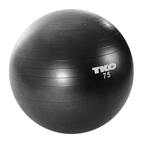 TKO Fitness Ball - Black, 75cm by TKO