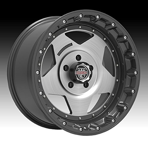 Centerline 832GM RT-1 20×10 5×139.7 Graphite/Brushed Wheel Rim