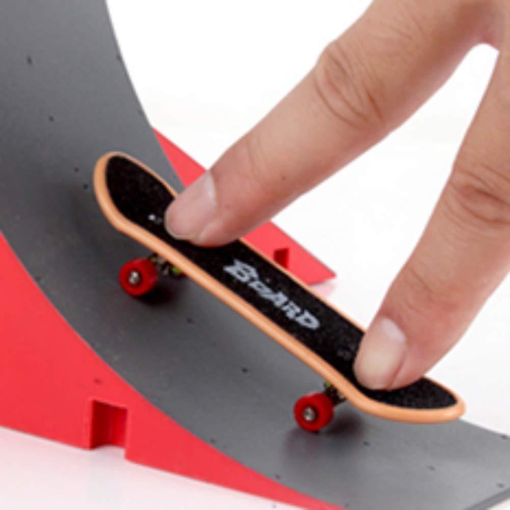 Gwxevce Skate Park Rampa Parts Para Tech Deck Fingerboard Finger Board Ultimate Parks Nuevo Lookool Ro