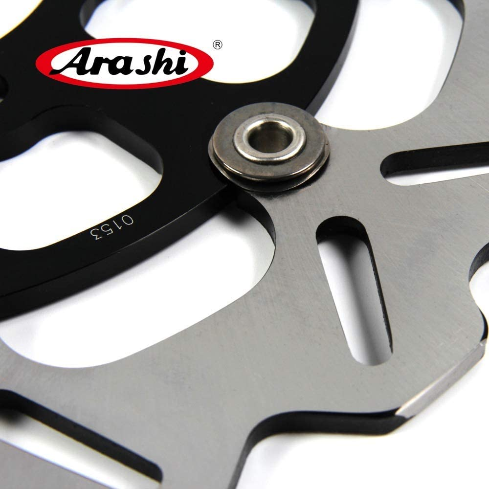Z800 13-16 ABS 13-16 Motorcycle Replacement Accessories ZX-6R Z 800 Black 2013 2014 2015 2016 Arashi Front Brake Disc Rotor for KAWASAKI Ninja ZX6R 13-16