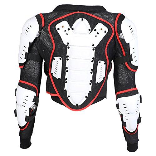 Kinder Motocross Motorrad MX Enduro Sport Körperrüstung - Alter 4,6,8 & 10