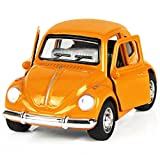 iPlay, iLearn Toy Diecast Car Play Vehicles, Pull Back Action with Lights and Sounds 1:38 (Orange)