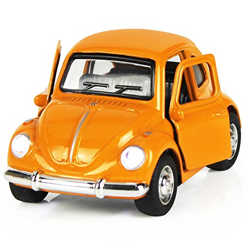 Play Classic Toys Cars (iPlay, iLearn Die Cast Bus Pull Back Play Toy Vehicles, Model Car Kits, Old Car Models, Classic Diecast Model Cars, Moving Vehicle Toys, School Bus with Lights and Sounds (A,Orange 1))