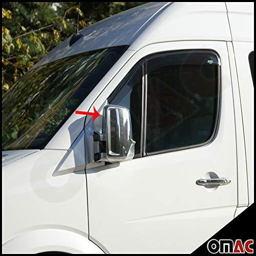 per Mercedes Sprinter W906 e VW Crafter. in acciaio inox Supporti specchietti retrovisori