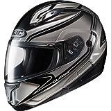 HJC Zader Men's CL-MAX II Bluetooth Full Face Motorcycle Helmet - MC-5 / Medium
