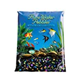 Pure Water Pebbles Aquarium Gravel, 5-Pound, Lasernite Glo