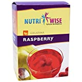 NutriWise – Raspberry High Protein Diet Gelatin (7/box) For Sale